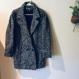 Herringbone winter coat